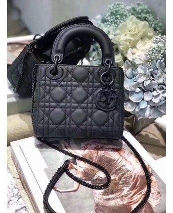 Чорна сумка Діор 18323