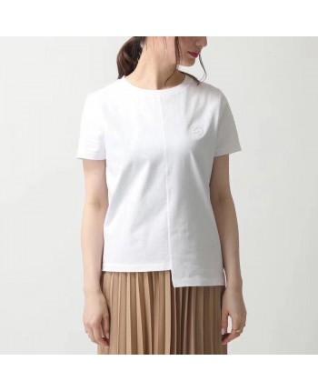 Асимметричная однотонная блуза 18387