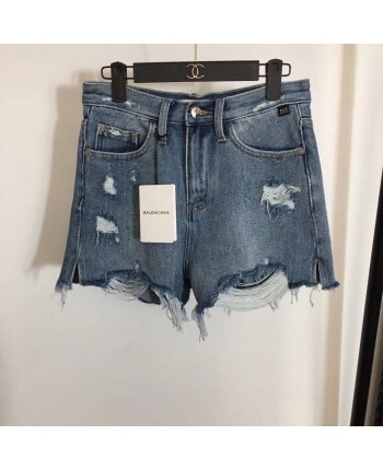 Шорты джинсовые рваные 18655