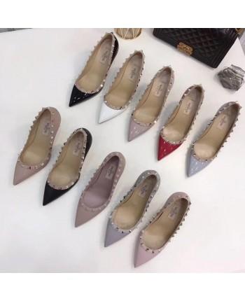 Шкіряні туфлі з заклепками 18751