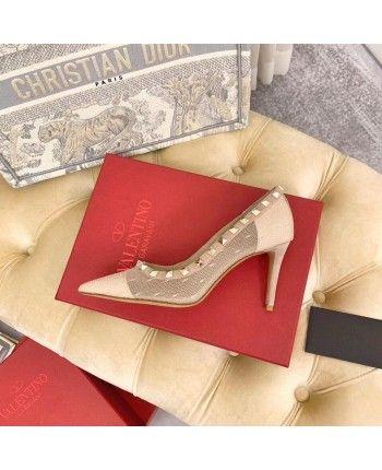 Кожаные туфли с заклепками 18910