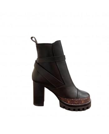 Женские кожаные ботинки 19703