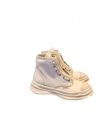 Тканевые ботинки на змейке 19714