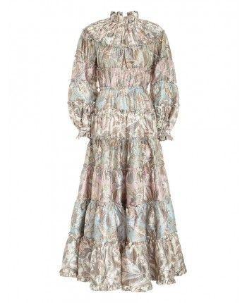 Платье с узором 110226