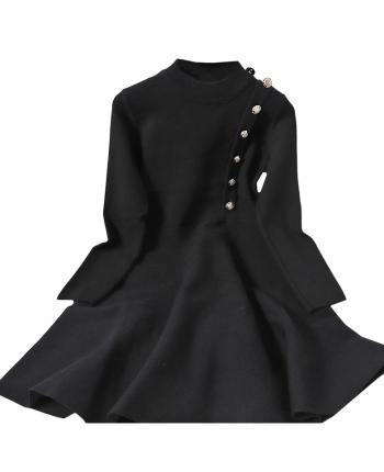 Платье с пышной юбкой 110017