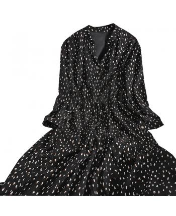 Платье на пуговицах 110030