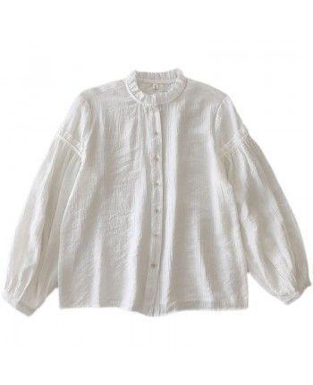 Легкая хлопковая блуза 110108