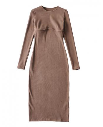 Силуэтное платье 110060