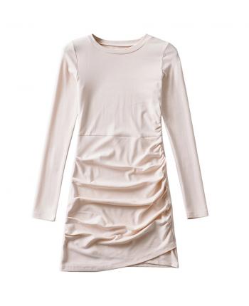 Коттоновое платье мини 110072