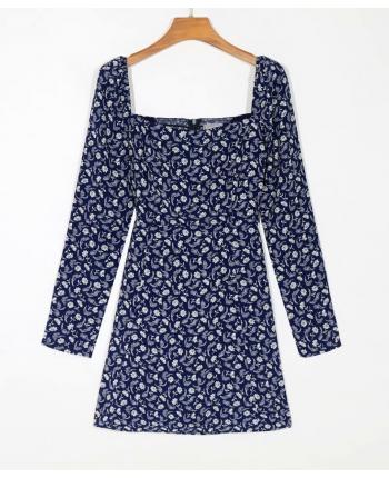 Цветочное платье 110105