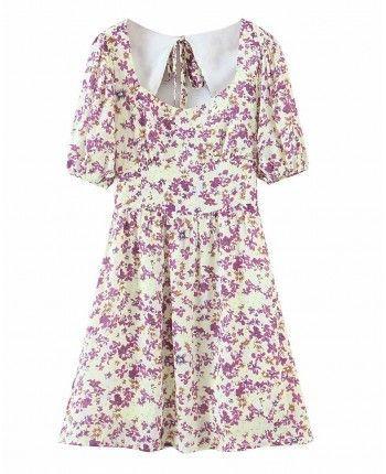 Платье с открытой спиной 110139