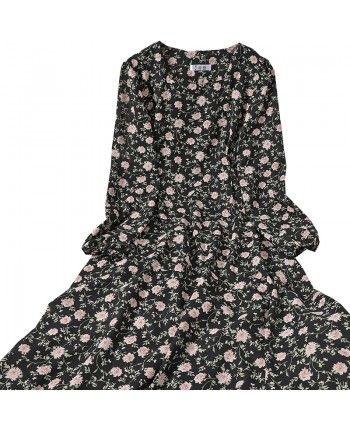 Легкое цветочное платье 110090