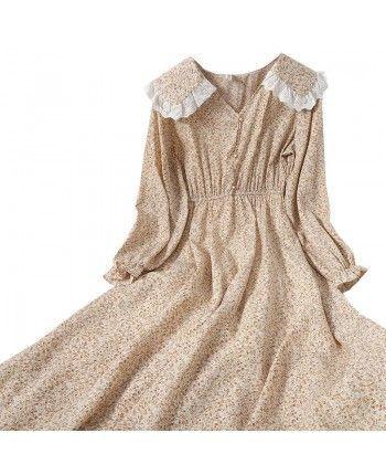 Платье с воротником 110106