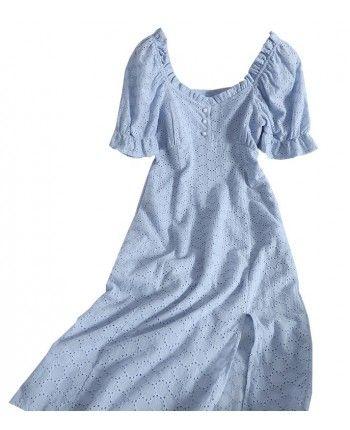 Платье из прошвы 110306