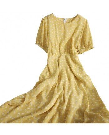 Шифоновое платье 110208