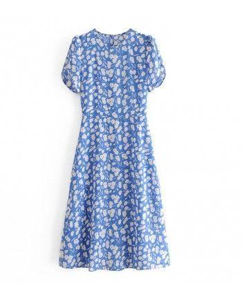 Голубое платье 110199