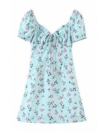 Нежное цветочное платье 110271