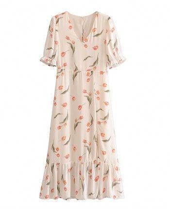 Легка сукня з розрізом 110281
