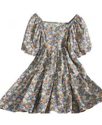 Цветочное платье 110231