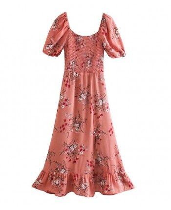 Шифонове плаття з розрізом 110230