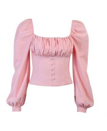 Розовая блуза 110280