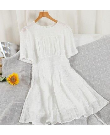 Нежное шифоновое платье 110243