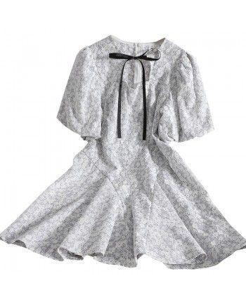 Кружевное платье 110246