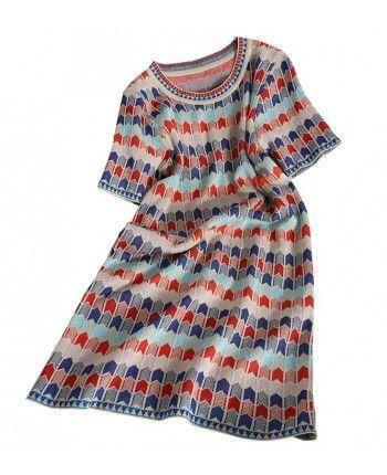 Сукня з люрексом 110244