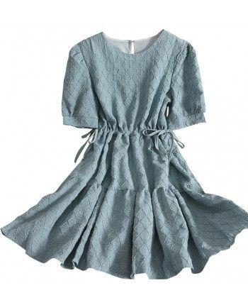 Платье с узором 110299