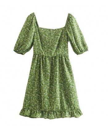 Цветочное платье 110295