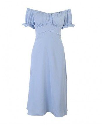 Шифоновое платье бюстье 110275