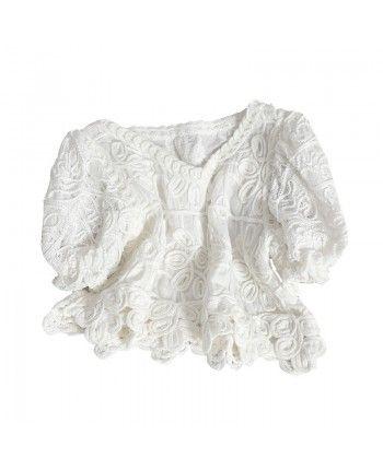 Вязаная блуза 110336