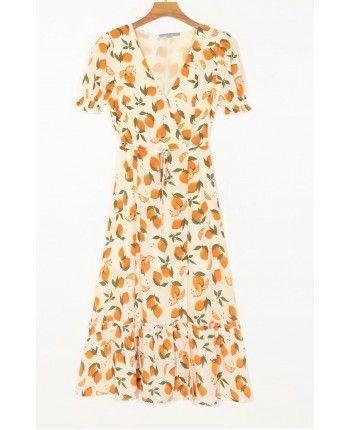 Платье на запах 110345