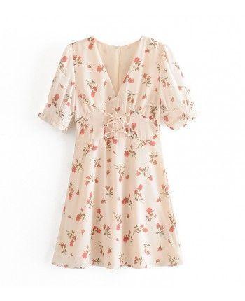 Нежное цветочное платье 110330