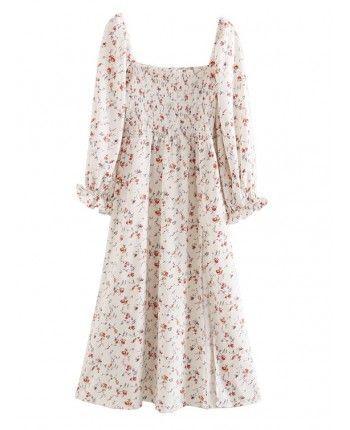 Квіткова сукня на різинці 110328