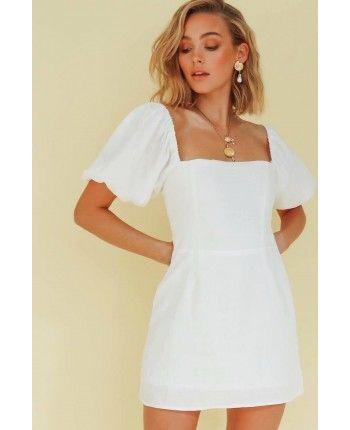 Сукня з пишним рукавом 110318