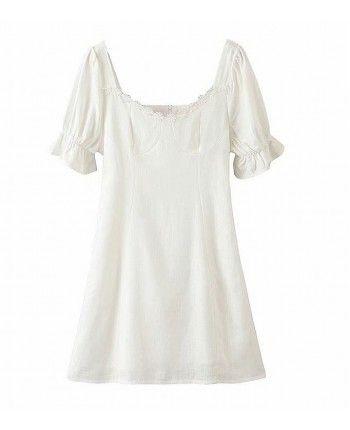 Белое платье 110351
