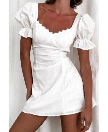 Біла сукня 110351