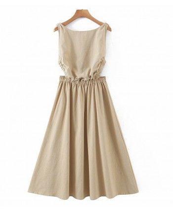 Сукня з відкритою спинкою 110353