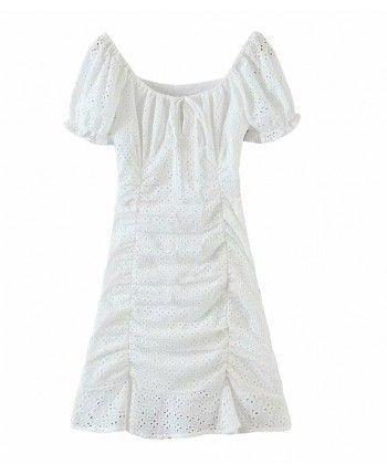 Платье из прошвы 110324