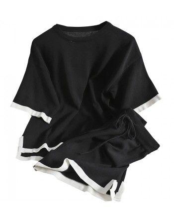 Трикотажный костюм с шортами 110333