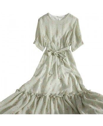 Шифоновое платье 110327