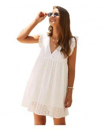 Платье из прошвы 110370