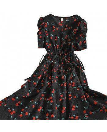 Платье с пышной юбкой 110381