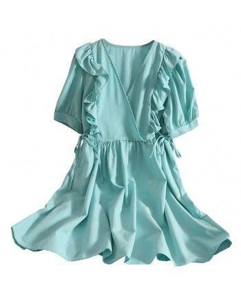Сукня з рюшами 110406