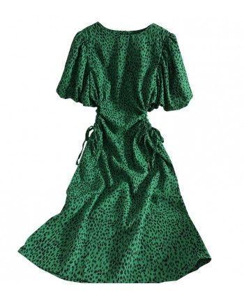Шифонова сукня з розрізами 110422