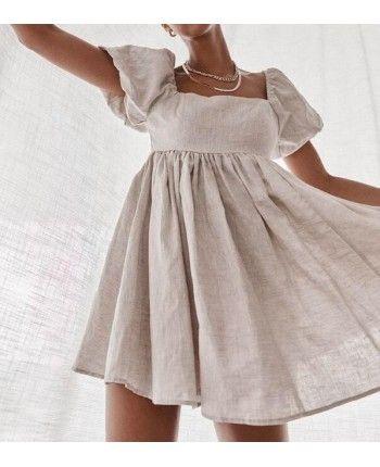 Лляна сукня 110428