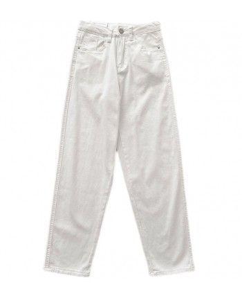 Белые джинсы мом 110424