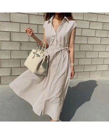 Легка сукня в смужку 110467