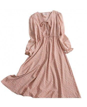 Квіткова сукня з бантом 110471